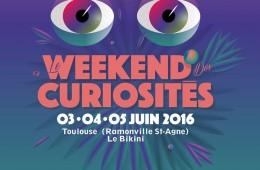 affiche officielle weekend des curiosités
