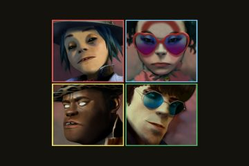 Gorillaz - humanz - artwork