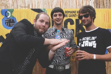 Fuzzy Vox en interview à rock en seine