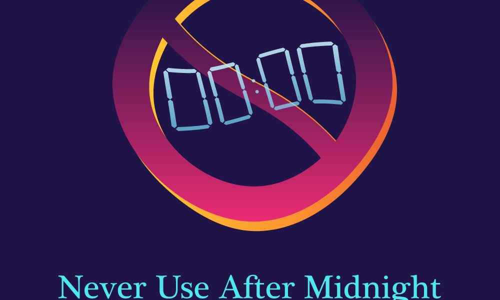 NEVER USE AFTER MIDNIGHT - MIXTAPE - RETROWAVE